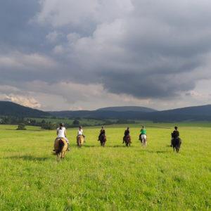Przejażdżka konna - okolice Gładyszowa