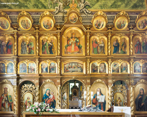 Ikonostas cerkwi w Kwiatoniu, fot. K.Ligęza