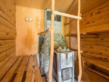 "Sauna – ""ruska bania"""