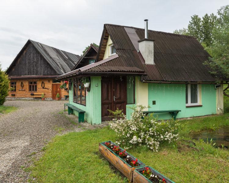 Mały domek wczasowy