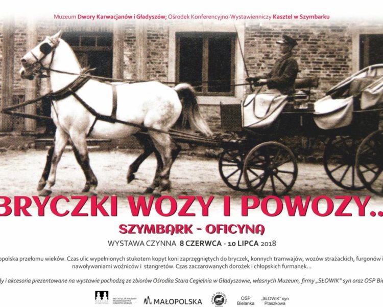 """""""Bryczki, wozy i powozy"""" – zapraszamy na wystawę do Szymbarku"""